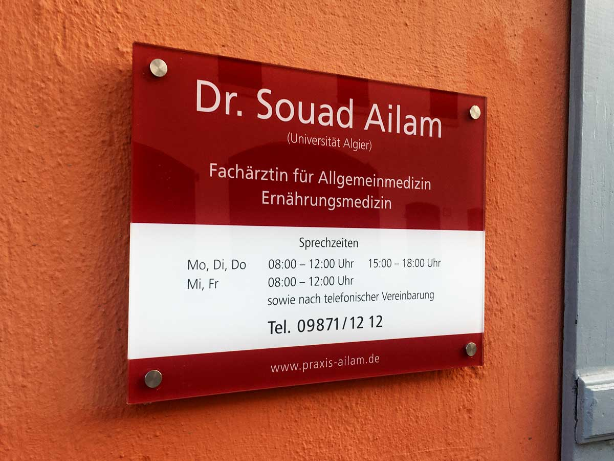 Allgemeinarzt Praxis Dr. Souad Ailam, Windsbach